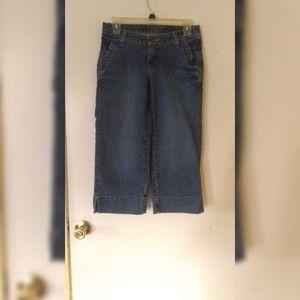 Junior jeans capris